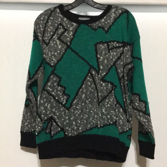 90s Christmas Sweaters.Vintage 90s Ugly Christmas Sweater Medium